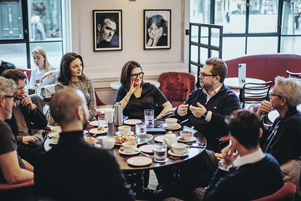 Eligent Club in Marylebone, London - Breakfasts with tech entrepreneurs